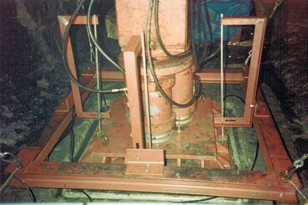 In Situ Triaxial Tests